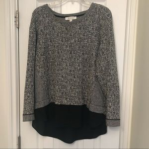 Two by Vince Camuto Layered Sweater